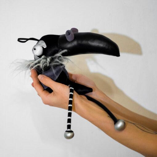 Интерьерная игрушка Непластилиновая Ворона / Nonclay Crow
