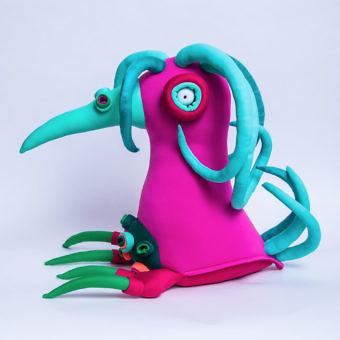 Интерьерная игрушка Глаз / Eye