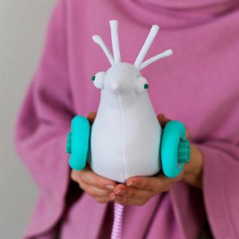 Зефирка / Marshmallow Bird