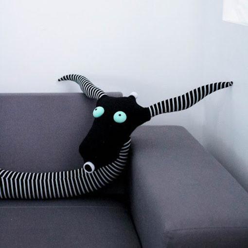 Striped friend